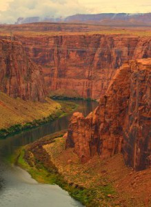 healing power dream canyon and river