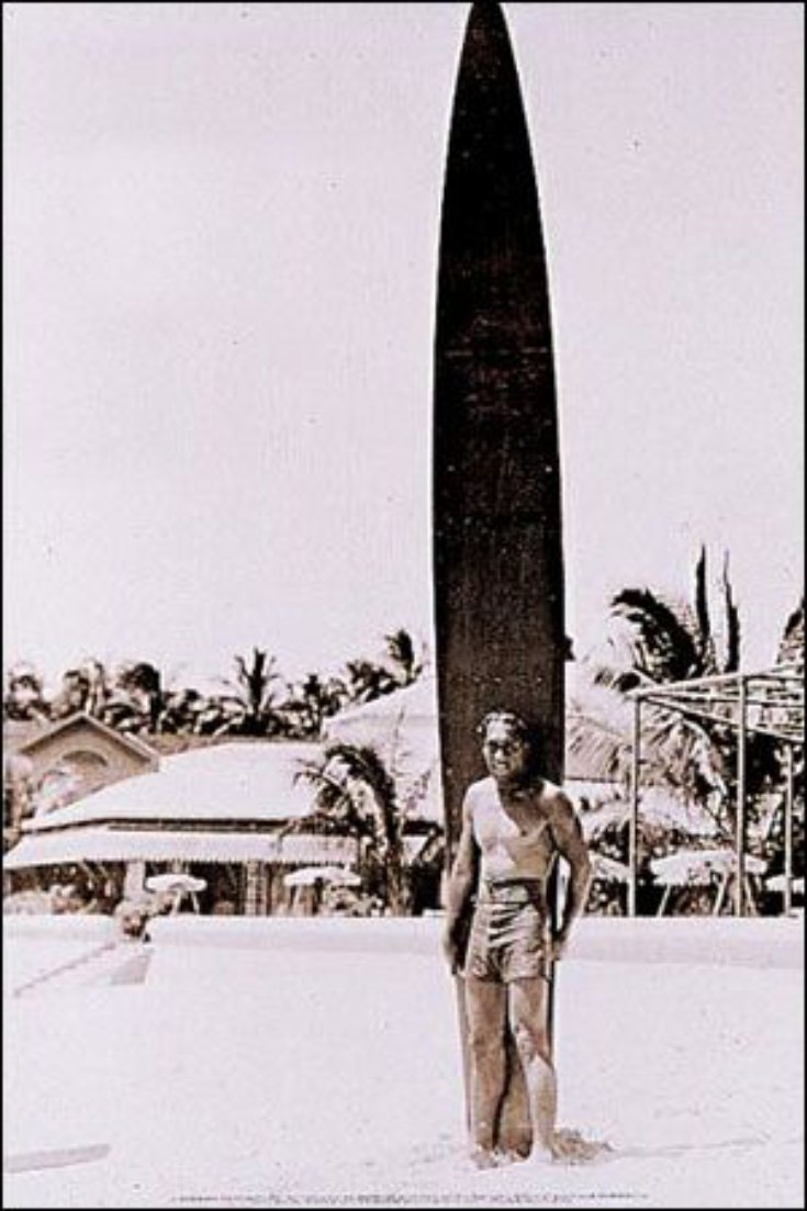 surfing history timeline Hawaii