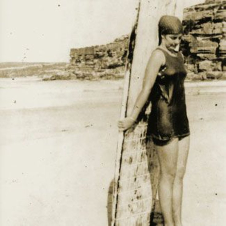 Australia surfer 1914 Isabelle Latham