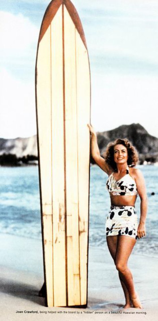 Joan Crawford Surfer Girl