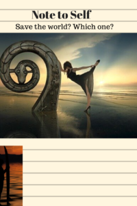 dancer on beach at dawn