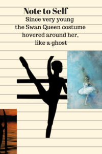 dance student and ballerina